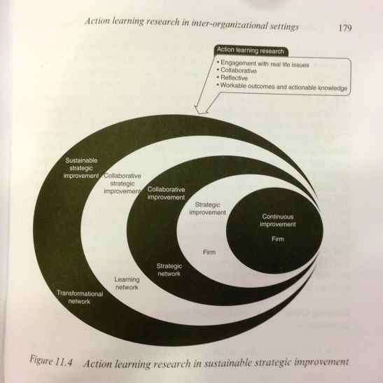 Coughlan P, Coghlan D., Collaborative Strategic Improvement through Network Action Learning. The path to sustainability, Edward Elgar, 2011, p. 174.