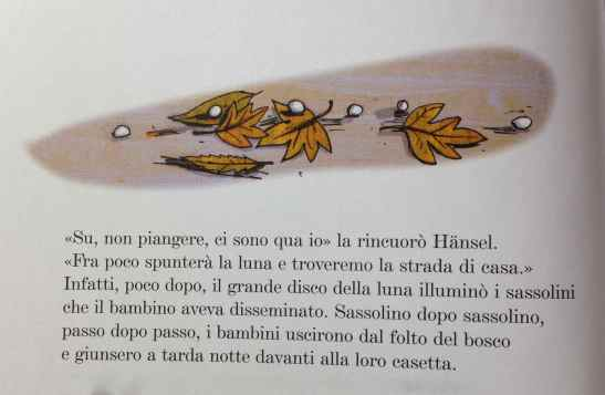 Grimm J., Grimm W.,  Hänsel e Gretel, Mondadori, 2005 Illustrazioni di Giulia Orecchia.