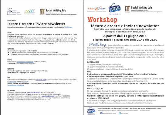 Workshop Pavia e TVP
