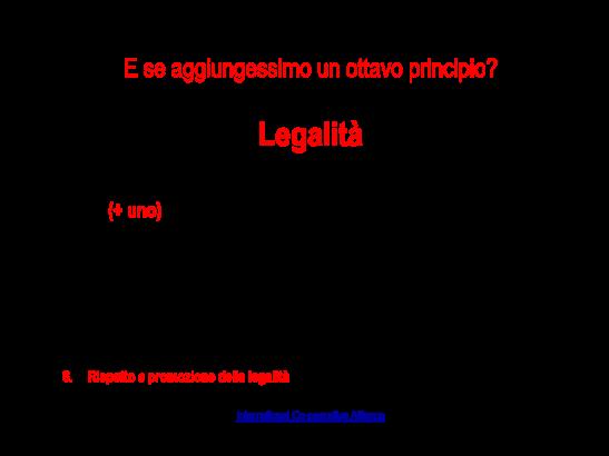 Ottavo principio  _ Legalità(1)